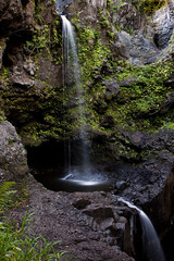 Maui Whisper (Ellie Stone) Tags: green nature rock waterfall soft maui hana serenity lush gulch oheo upperpools