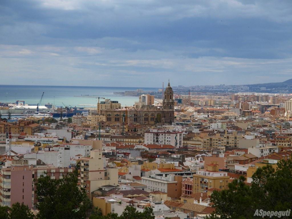 Málaga desde el Monte Calvario