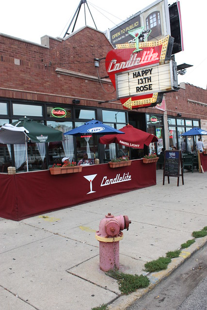 Candlelite Chicago restaurant and Sports Bar  Chicago Thin Crust Pizza by Candlelite Chicago