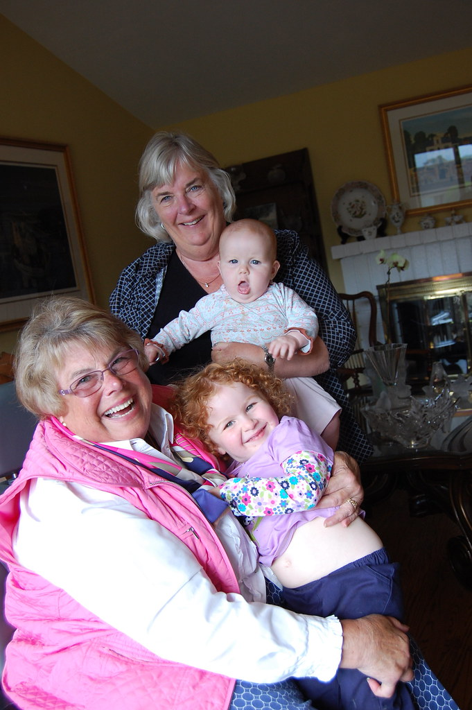 Grammie, Grandma, Erin, Robin