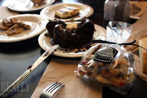 UMNH Hard Hat Tour Lunch at Corner Bakery Cafe