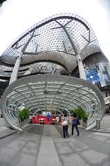 Unique architecture (Susi Tanto) Tags: plaza architecture modern landscape design singapore exterior unique orchard ion interrior futurustic