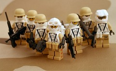 CEC Neomarines (Mechanekton) Tags: lego military soldiers minifigs squad custom troops brickarms brickforge askingtotradebuywillresultinaninstantblock