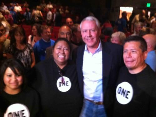 10-7-10 - ONE members with Ken Buck in Pueblo, Colorado
