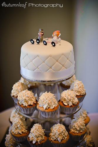 Angela&Jason's Wedding- The Wedding Cake