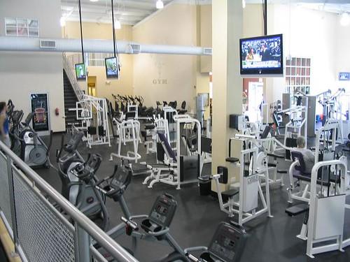 Winston Salem Gyms - Workout Area