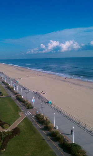 Virginia Beach from my Hotel room