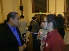 California Secretary of Agriculture A.G. Kawamura and Joshua Gibbs