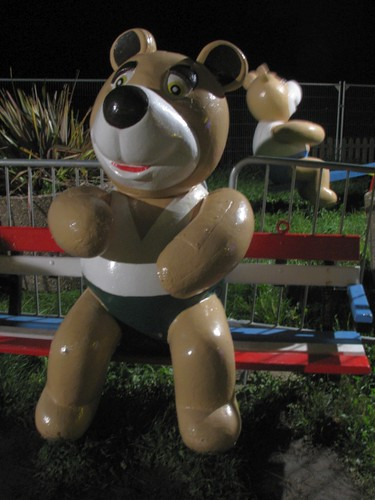 Blackpool Illuminations bear