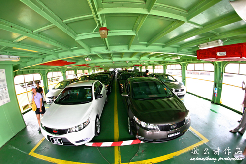 Kia Forte Penang Convoy - Butterworth Ferry