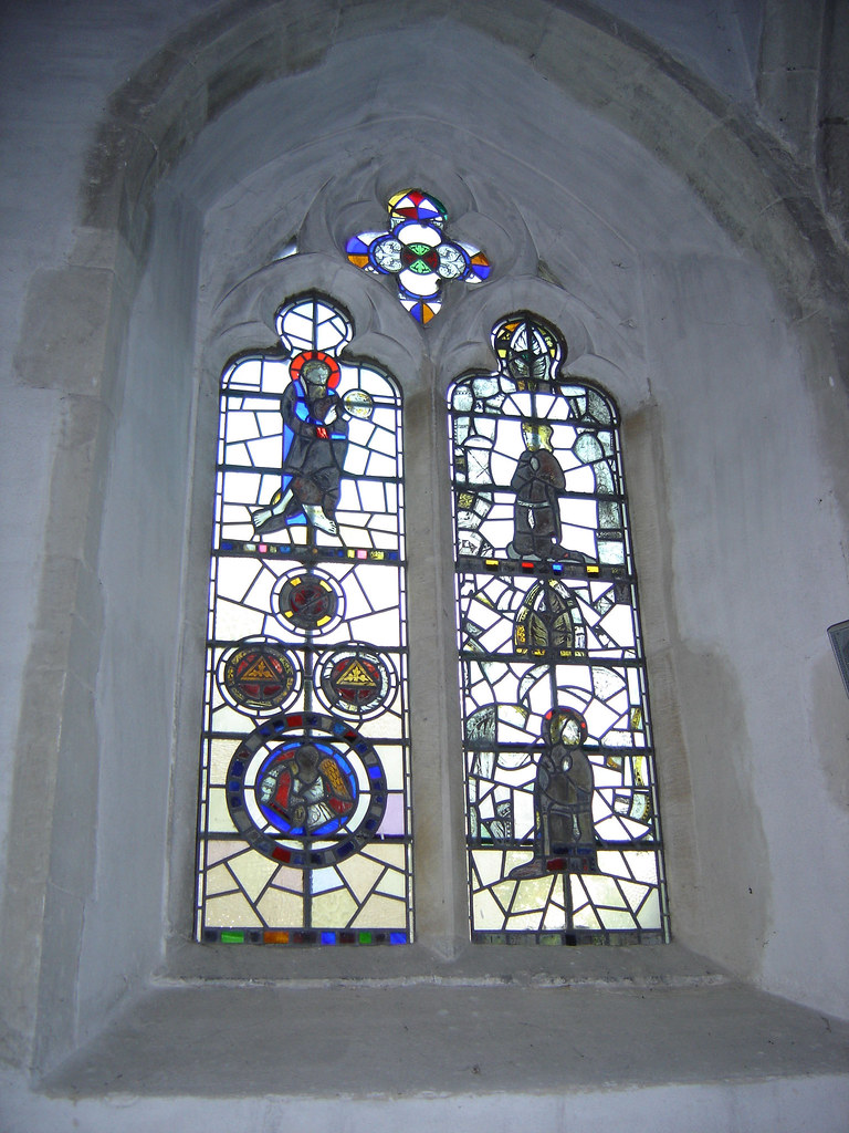 Window, Church of St Mary The Virgin, Upchurch, Kent