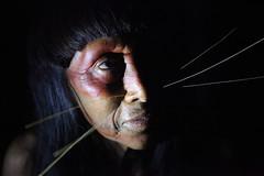 Matses Woman (Ingiro) Tags: brazil woman peru southamerica brasil america river donna amazon south fiume per indios brasile indio sud amazonas ingiro amazzonia matses mayoruna americadelsud riodelleamazzoni