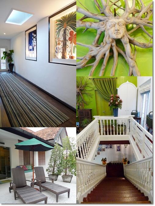 Corridor, Balcony, Stairs