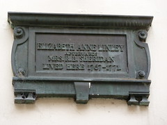 Photo of Elizabeth Anne Linley bronze plaque