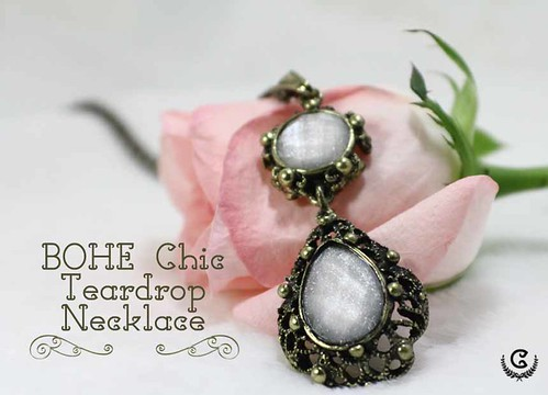Bohe Chic Teardrop Necklace