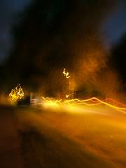 street waves (ztephen) Tags: blur night scotland helensburgh carheadlights