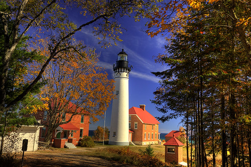 Au Sable Lighthouse, Pictured Rocks National Lakeshore