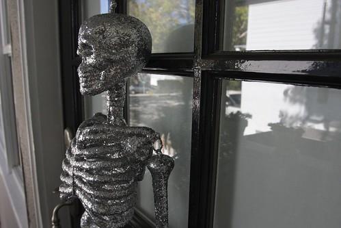on the front door