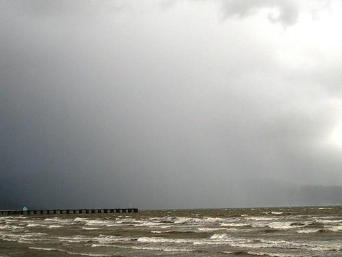 Stormy Petone Beach