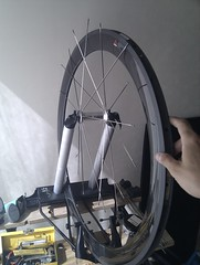 Building Carbon rim Wheel