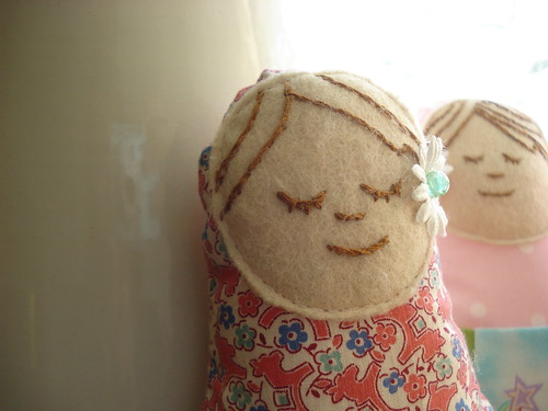 Matyroshka Tooth Fairy Doll