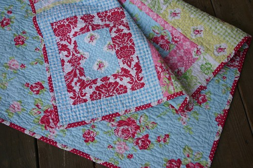 Darla Quilt - backing