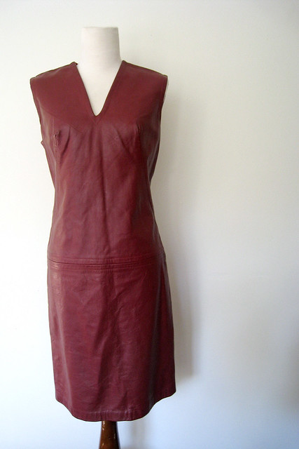 1960's Leather Dress