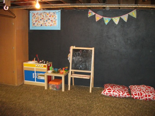 playroom kitchen corner