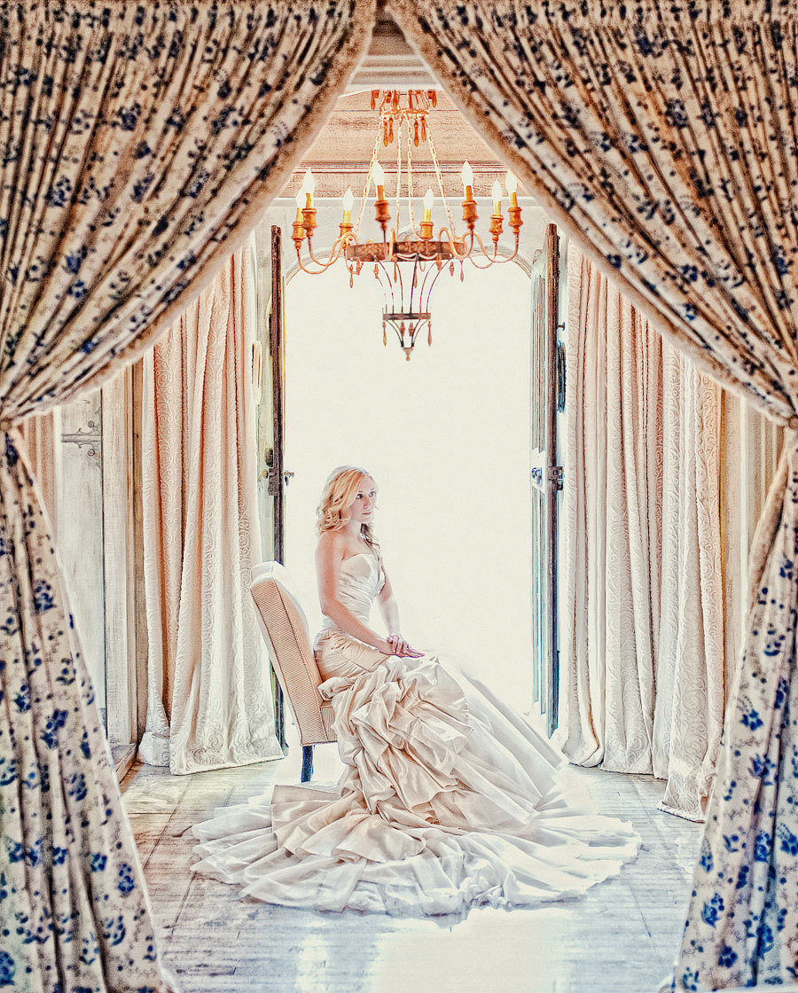 Chelsea's bridal photography at a exclusive private estate in Dana Point CA