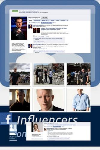 Periodistas con página de fans en Facebook
