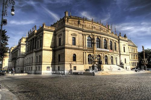 Prague. Rodolfinum. Praga