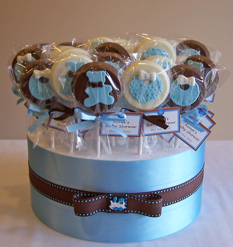 Baby Shower Favours   Chocolate Pops