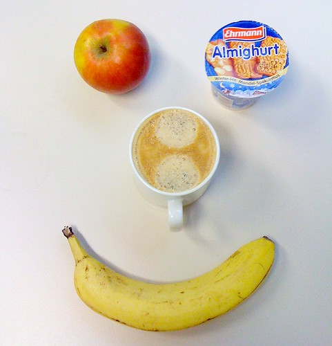 Banane, Cox Holstein & Almighurt Mandel-Spekulatius