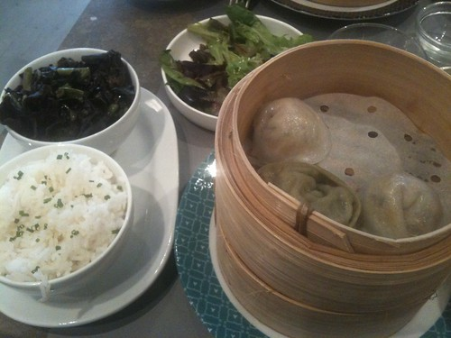 Yoom: Dim sum, black mushrooms and rice
