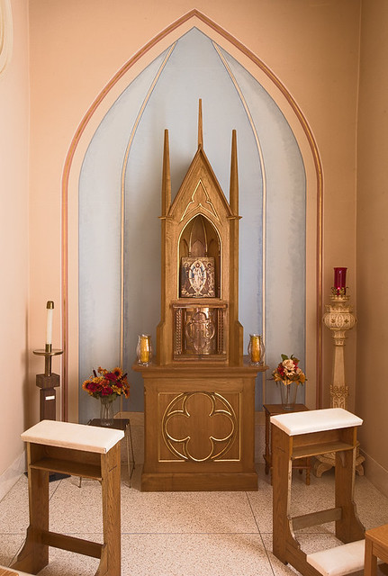Saint Patrick Roman Catholic Church, in Grafton, Illinois, USA - tabernacle