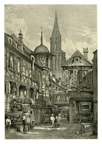 030-Estrasburgo-Sketches by Samuel Prout in France Belgium….1915