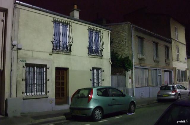 Petites maisons du 20ème arrondissement
