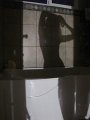 IMG_8981 (kimkaay) Tags: shadow me wall naked skinny shower erotic slim curves wave curvy tiles bathtub longlegs slimbody