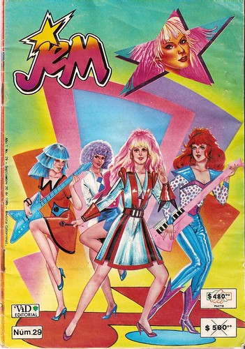 Jem mexican comic!