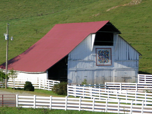 Heritage barn outside of Mountain City, TN