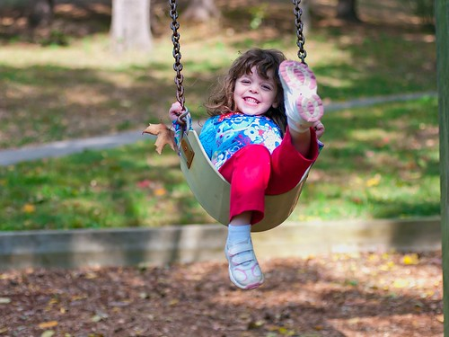 Swinging in the fall