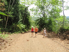Hiking to the Corcovado National Park.