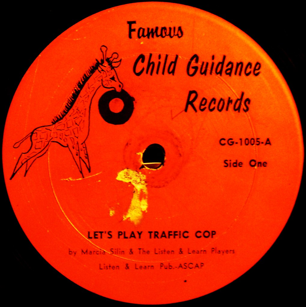 Let's Play Traffic Cop label