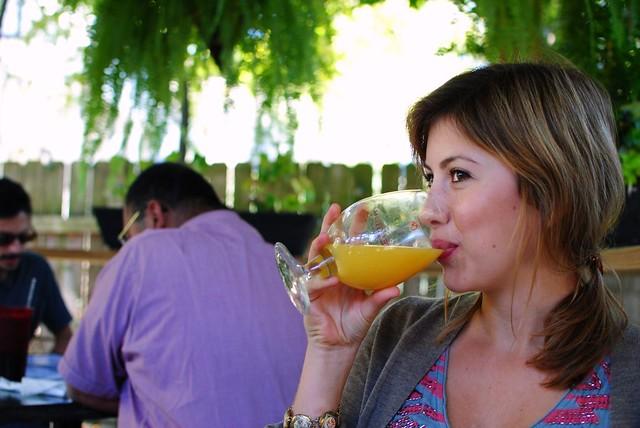 yummy mimosa!