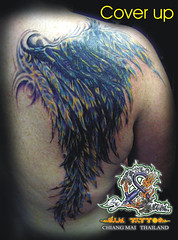 Tattoo & Body Piercing In Chiang Mai Thailand | Many Designs / Original Work/ Magic Tattoo YANT Thai Style