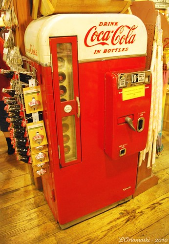 Old-Fashioned Coke Machine