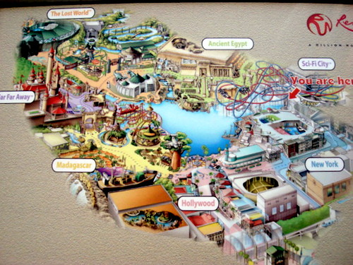 Universal Studio SG - attractions 1