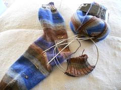 Andy's Stripey Socks 2
