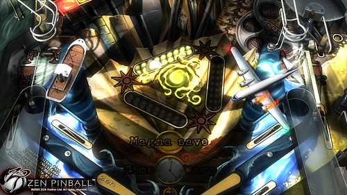 Zen Pinball Paranormal table PS3