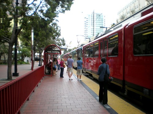 transit in San Diego (by: Reconnecting America/CTOD, creative commons license)